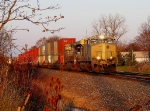 NS 7524 NS 24Z gets the first sun of the morning east of Butler